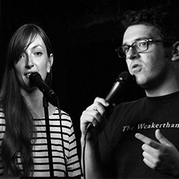 Ep 14 THE WOLFPACK with comedians Dave Ross and Anna Seregina