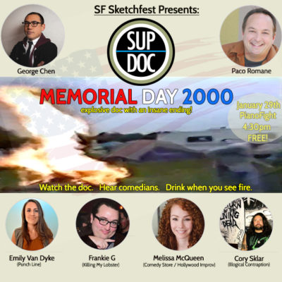 Sup Doc Podcast LIVE recording SF Sketchfest 2017