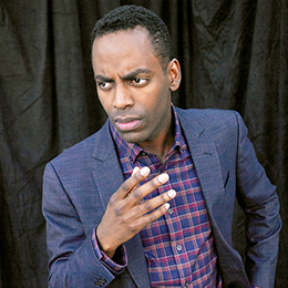 Ep 66 FATHERLESS with comedian/actor Baron Vaughn