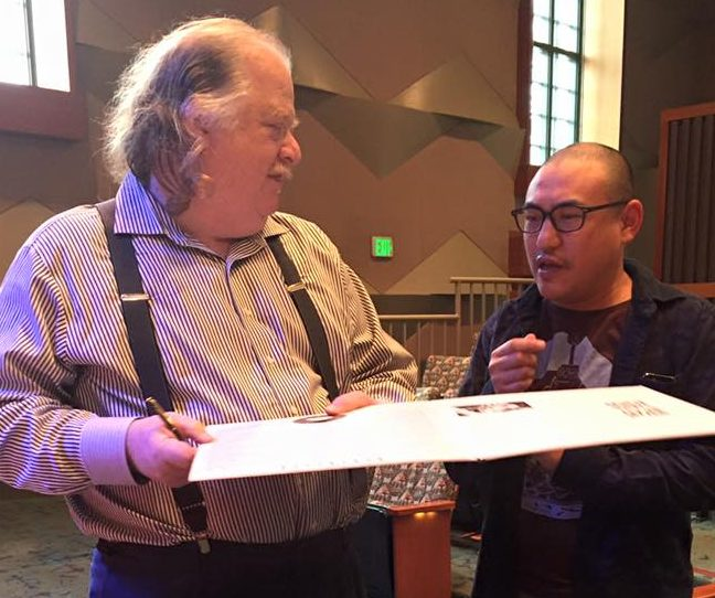 Jonathan Gold and George