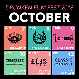 Ep 97 Drunken Film Fest with festival director Arlin Golden
