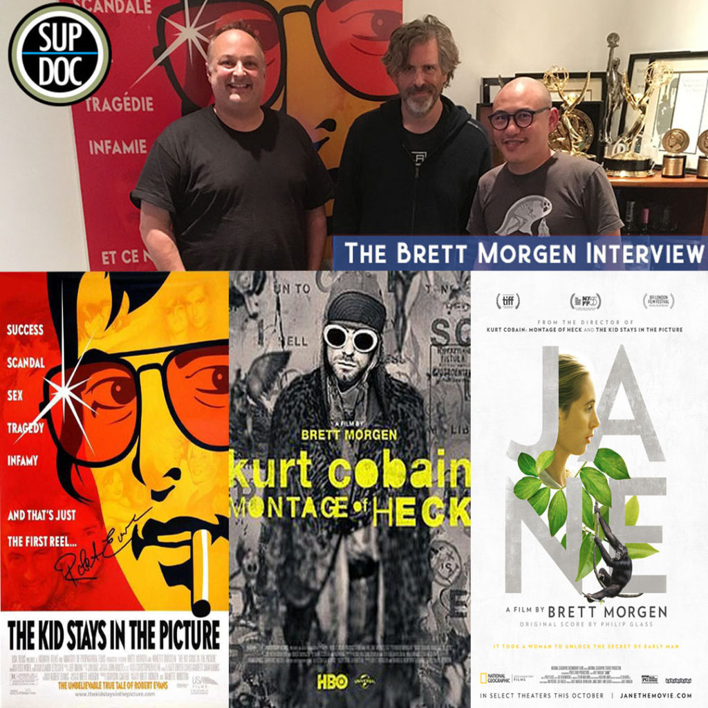 The Brett Morgen Interview on Sup Doc Podcast