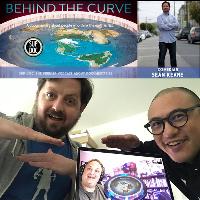 Sup Doc Podcast Behind The Curve with comedian Sean Keane